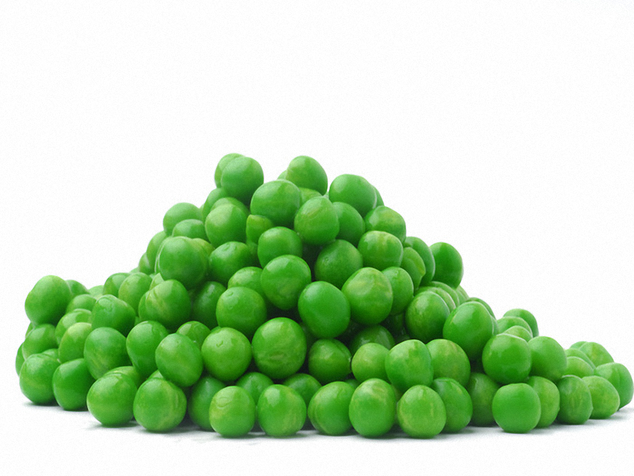 the deep frozen garden peas are prepared from the immature grains of the plants complying with the characteristics of the species - Garden Peas
